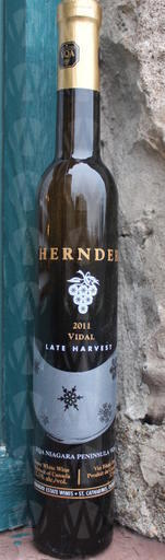 Hernder Estate Winery Late Harvest Vidal