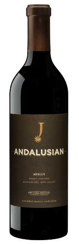 ANDALUSIAN RUTHERFORD NAPA VALLEY MERLOT Bottle