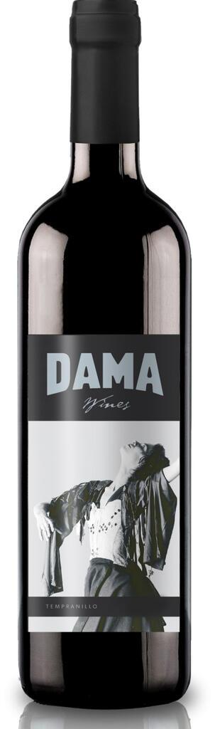 DAMA Wines Tempranillo Bottle Preview