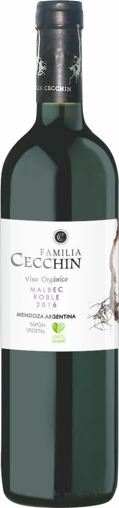 Famila Cecchin Organic & Natural Wines Malbec reserve Familia Cecchin Bottle Preview
