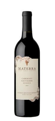 Materra, Cunat Family Vineyards Cabernet Sauvignon Diamond Mountain Reserve Bottle Preview