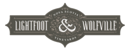 Lightfoot  & Wolfville Vineyards Logo