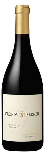 Gloria Ferrer Estate Varietals Rust Rock Vineyard Pinot Noir Bottle Preview