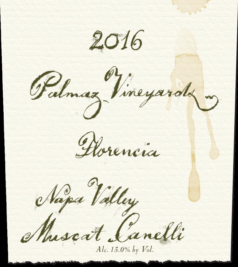 Palmaz Vineyards Florencia Muscat Canelli Bottle Preview