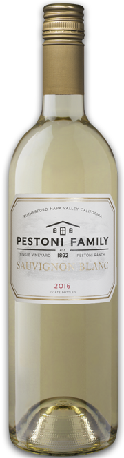 Pestoni Family Estate Winery Estate Sauvignon Blanc Bottle Preview