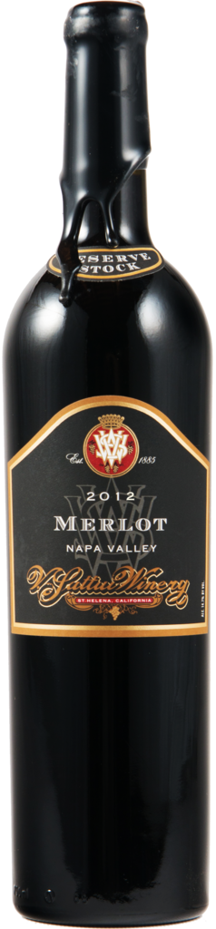 V. Sattui Winery Reserve Merlot Bottle Preview