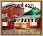 Cox Creek Cellars Inc. Late Fall Harvest Gewurztraminer