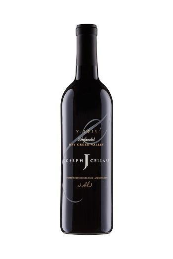 Joseph Cellars Zinfandel Dry Creek Valley Bottle Preview