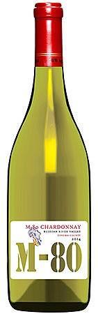 Vinum Cellars M-80 Chardonnay Bottle Preview