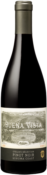 Buena Vista Winery Otelia's Selection Pinot Noir Bottle Preview
