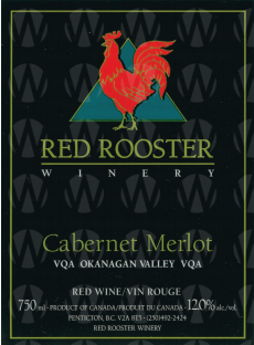 Red Rooster Winery Cabernet Merlot