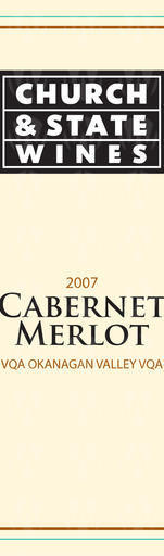 Church & State Wines Cabernet Merlot