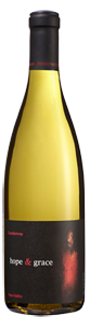 hope & grace Winery hope & grace Chardonnay, Yountville Bottle Preview