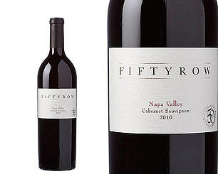 Fiftyrow Vineyards Fiftyrow Napa Valley Cabernet Sauvignon Bottle Preview