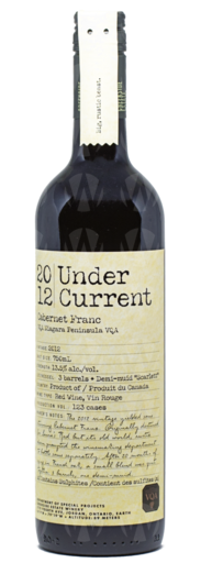Creekside Estate Winery Undercurrent Cabernet Franc