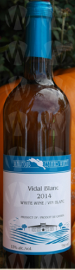Waupoos Estates Winery Vidal