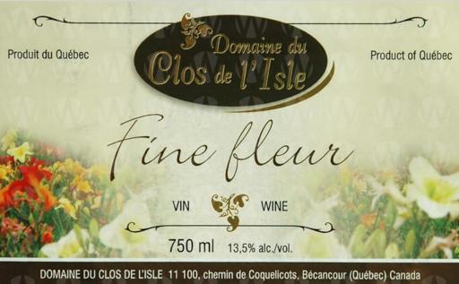 Domaine Clos de l'Isle Fine Fleur