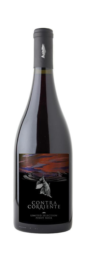 Contra Corriente Bodega Pinot Noir Bottle Preview