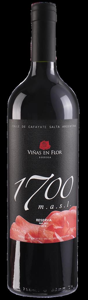 Viñas en Flor Bodega Malbec Vintage 2018. Bottle Preview