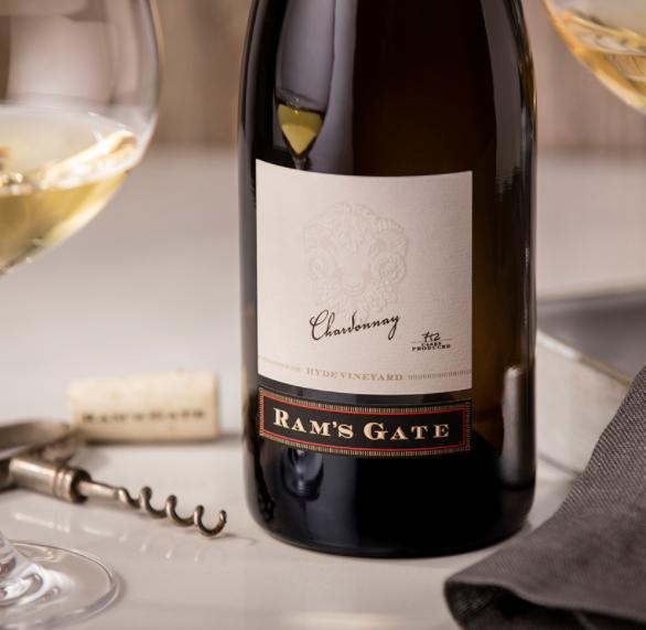 Ram's Gate Winery Chardonnay, Hyde Vineyard Bottle Preview