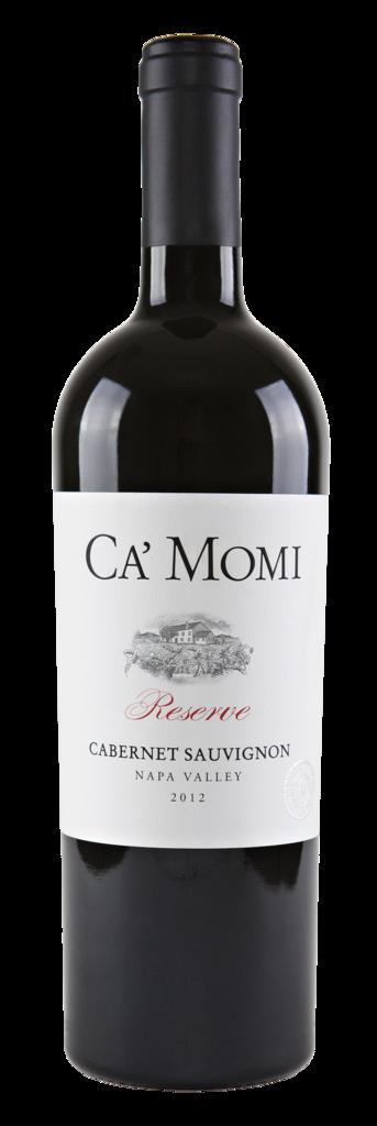 Ca' Momi Winery Cabernet Sauvignon Reserve Bottle Preview