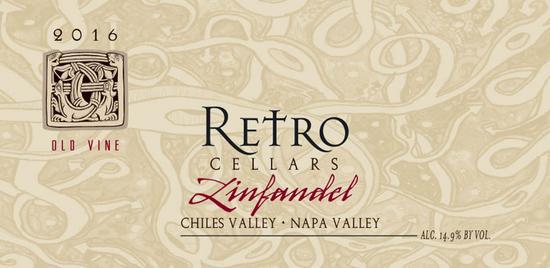 Retro Cellars Zinfandel Chiles Valley Bottle Preview