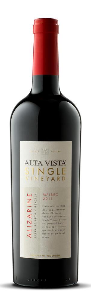 Alta Vista Single Vineyard Alizarine Bottle