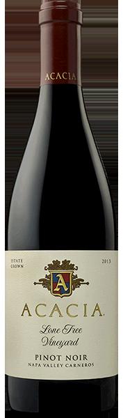 Acacia Vineyard Lonetree Barrel Select Pinot Noir Bottle