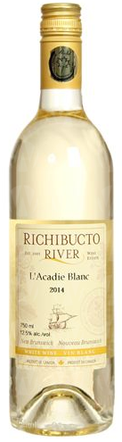 Richibucto River Wine Estate L'Acadie Blanc