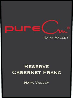 pureCru Wines Reserve Cabernet Franc Bottle Preview
