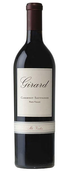 Girard Winery Cabernet Sauvignon Mt. Veeder, Napa Valley Bottle Preview