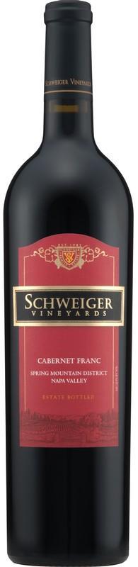 Schweiger Vineyards Cabernet Franc Bottle Preview