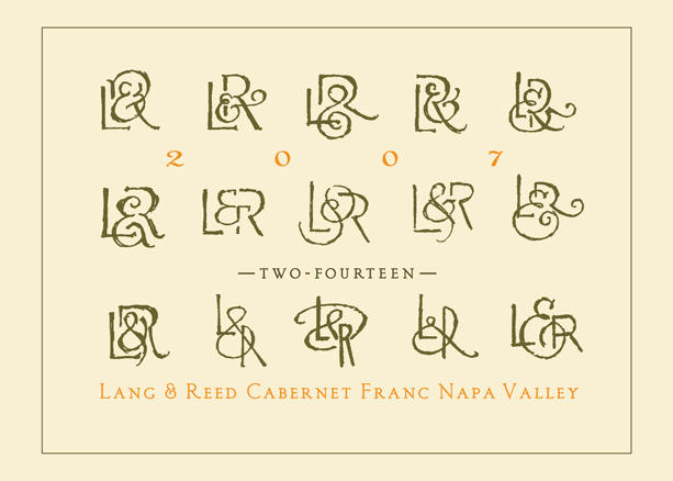 Lang & Reed Napa Valley Lang & Reed 'Two-Fourteen' Bottle Preview