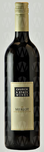 Church & State Wines Coyote Bowl Merlot