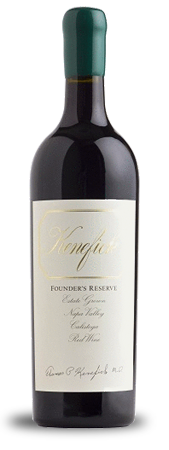 Kenefick Ranch Winery Founder's Reserve Bottle Preview