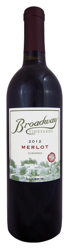 Broadway Vineyards Merlot Bottle Preview