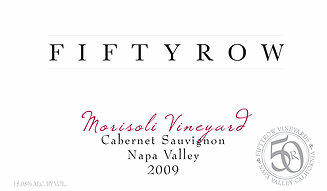 Fiftyrow Vineyards Fiftyrow Napa Valley Morisoli Cabernet Bottle Preview