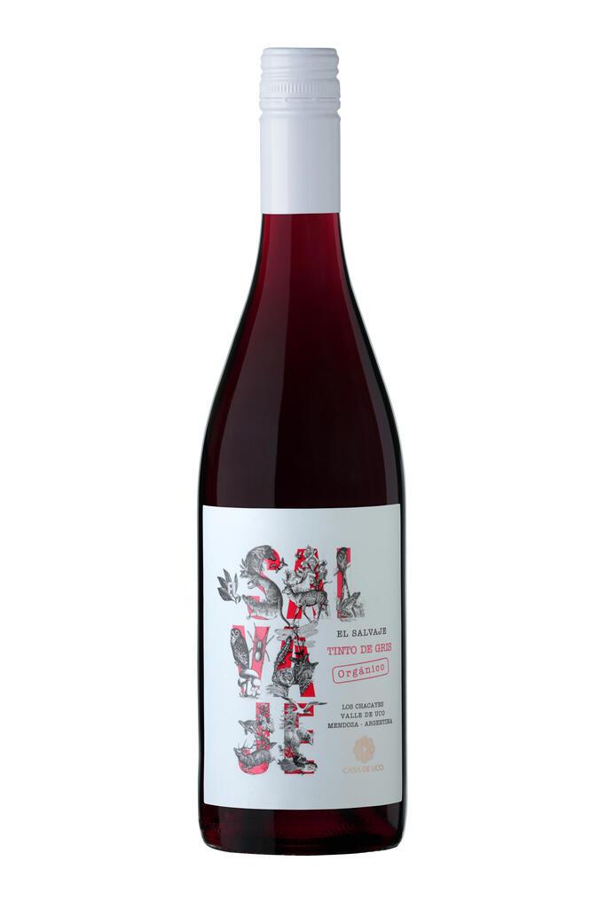 El Salvaje Orgánico Tinto de Gris Bottle