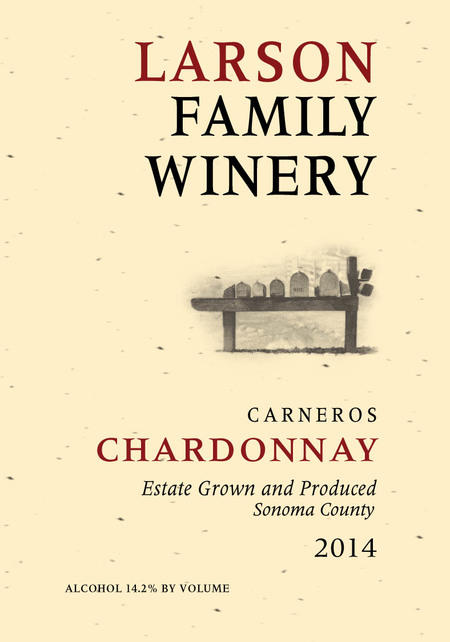 Larson Family Winery Larson Family Chardonnay Bottle Preview