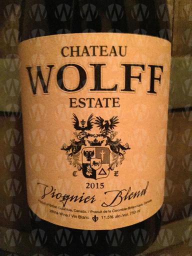 Chateau Wolff Estate Viognier Blend