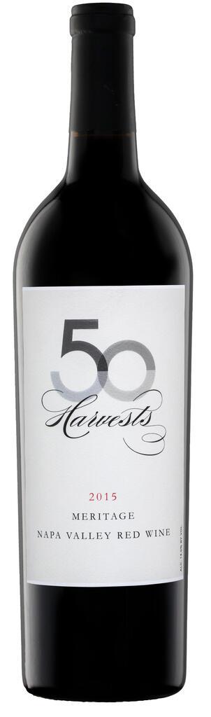 J. McClelland Cellars 50 Harvests 2015 Napa Valley Red Meritage Bottle Preview