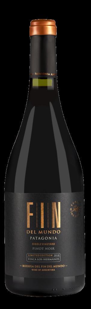 Fin del Mundo Single Vineyard Pinot Noir Bottle