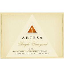 Artesa Winery Foss Valley Vineyard Cabernet Franc, Atlas Peak Bottle Preview