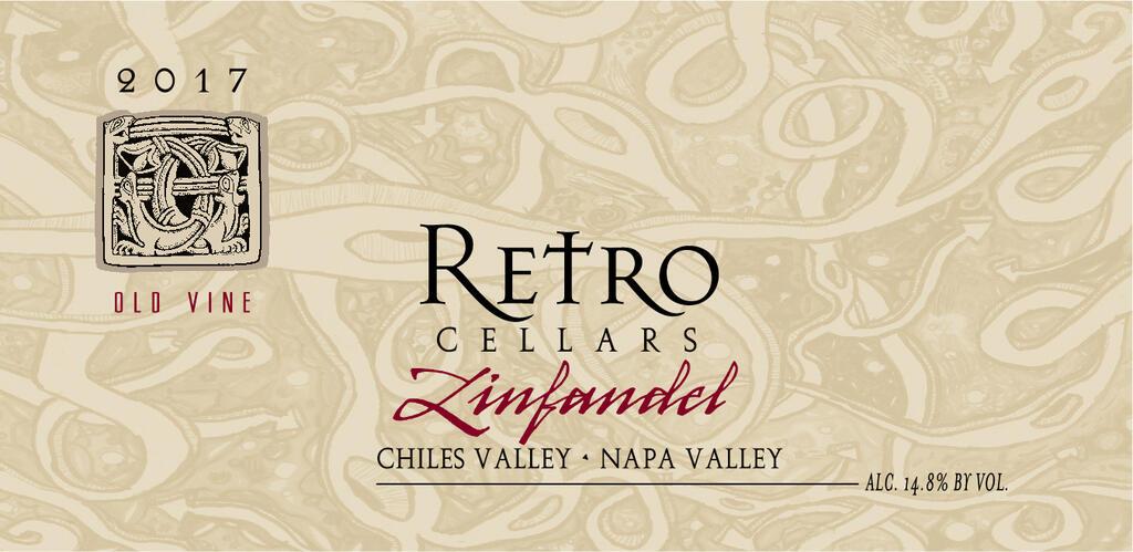 Zinfandel Chiles Valley Bottle
