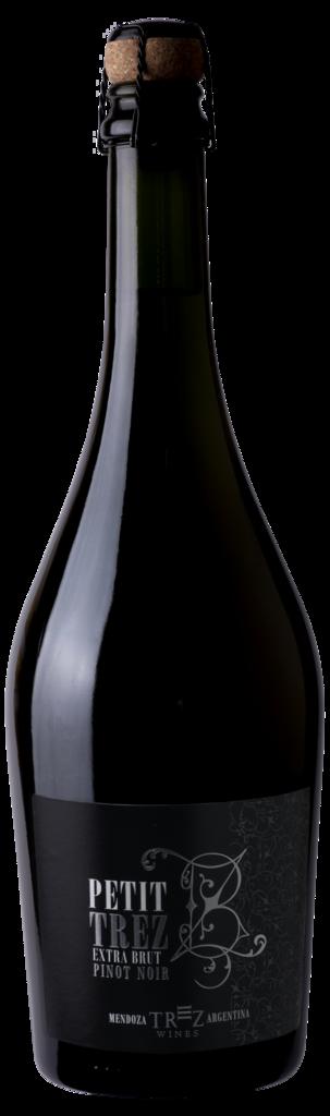 Trez Wines Petit TREZ Extra Brut Bottle Preview