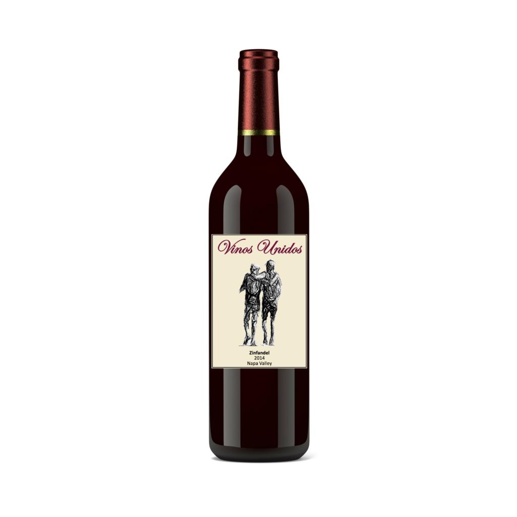 Vinos Unidos Wine Zinfandel Bottle Preview