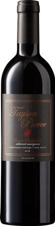 """Tayson Pierce Wines Tayson Pierce Estate Wines """"Stagecoach Vineyards"""" Cabernet Sauvignon Bottle Preview"""