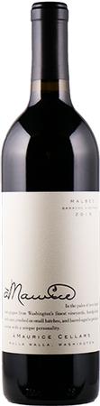 àMaurice Cellars Columbia Valley Malbec Bottle Preview