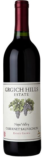 Grgich Hills Estate Napa Valley Cabernet Sauvignon Bottle Preview