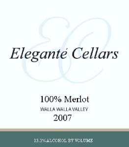 Elegante' Cellars Logo